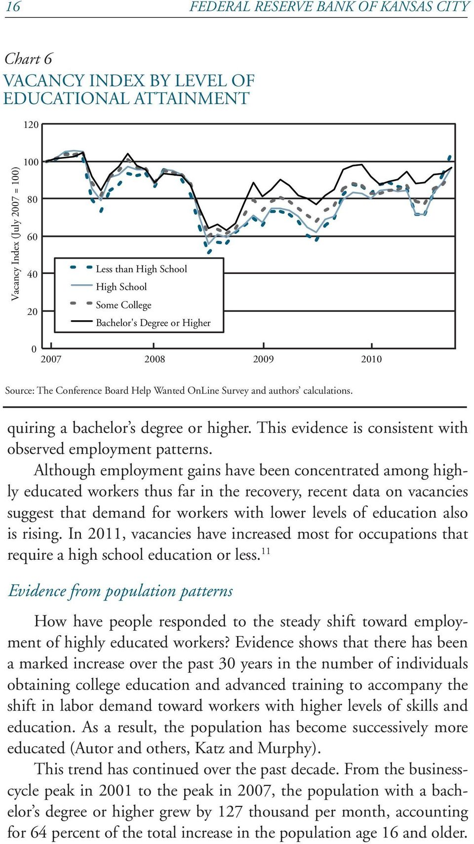 This evidence is consistent with observed employment patterns.