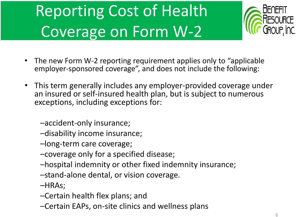 including exceptions for: accident-only insurance; disability income insurance; long-term care coverage; coverage only for a specified disease; hospital