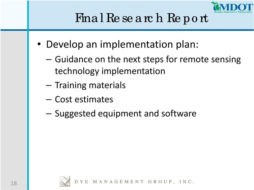 technology implementation Training materials Cost