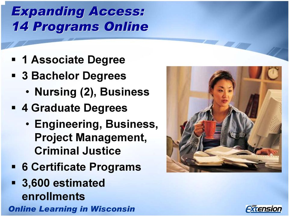 Degrees Engineering, Business, Project Management,