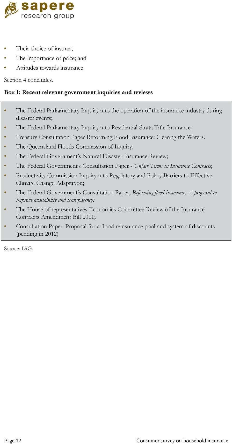 unfair terms in insurance contracts options paper