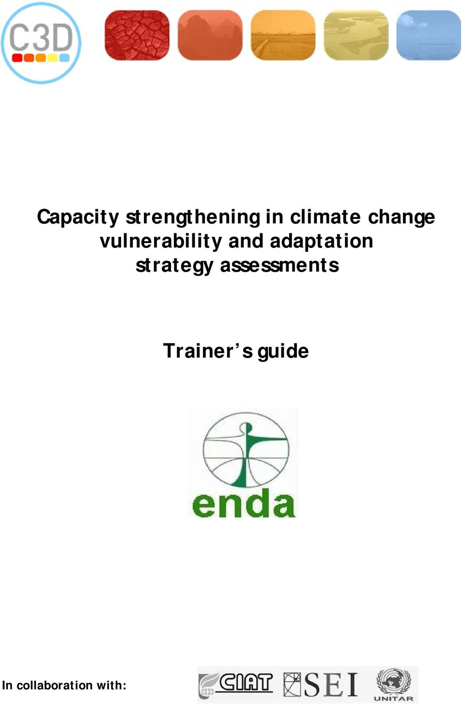 adaptation strategy assessments