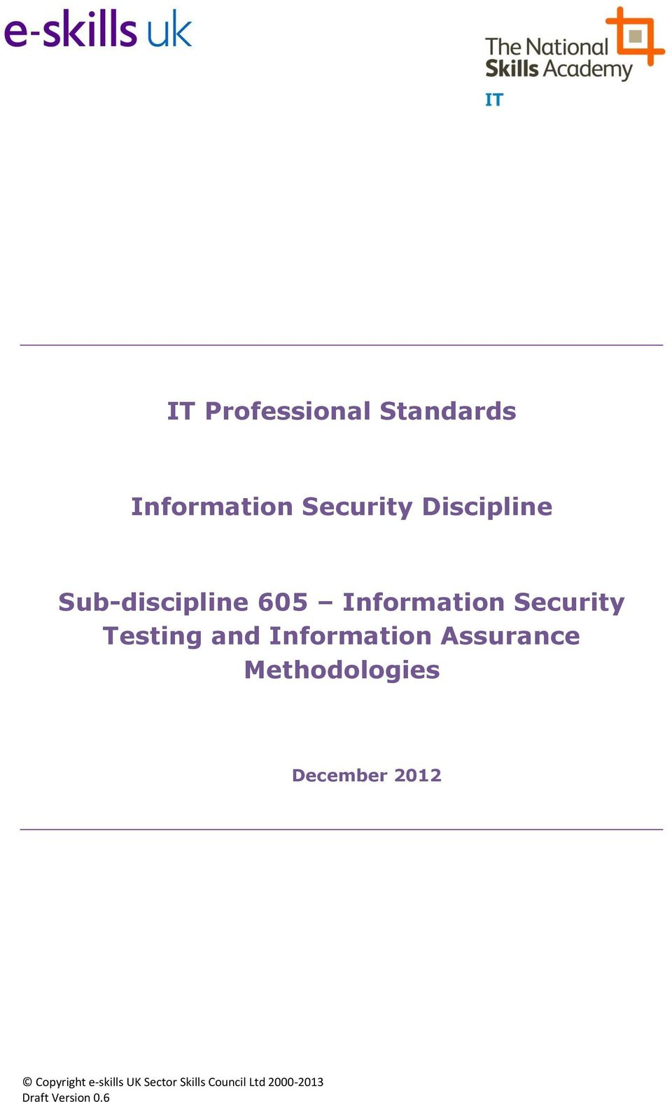 Information Security Testing and Information
