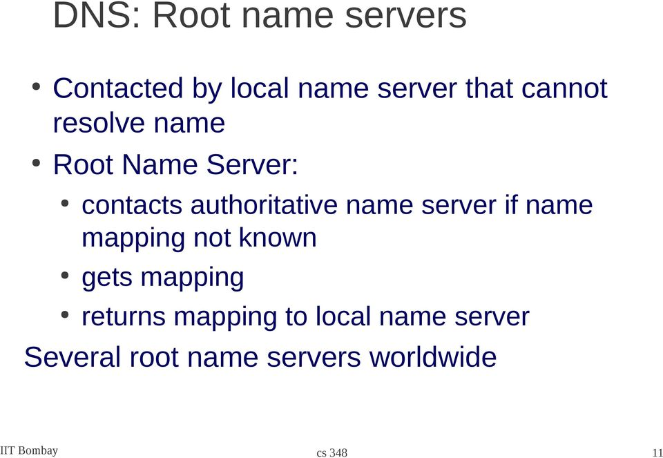 server if name mapping not known gets mapping returns mapping to