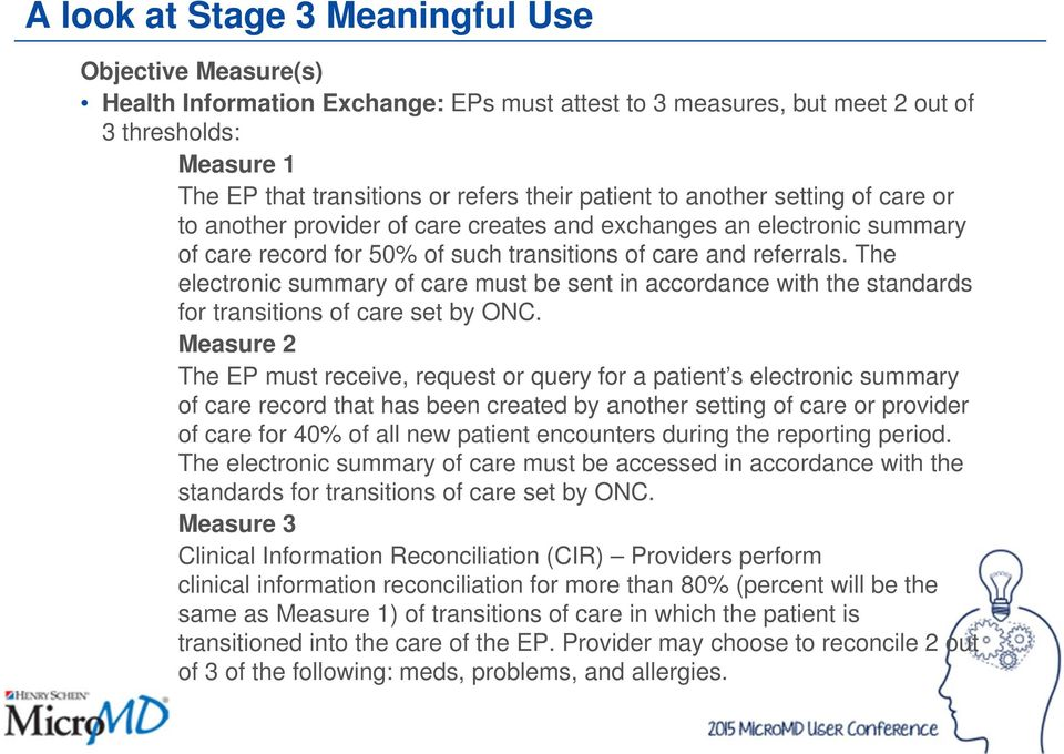 The electronic summary of care must be sent in accordance with the standards for transitions of care set by ONC.