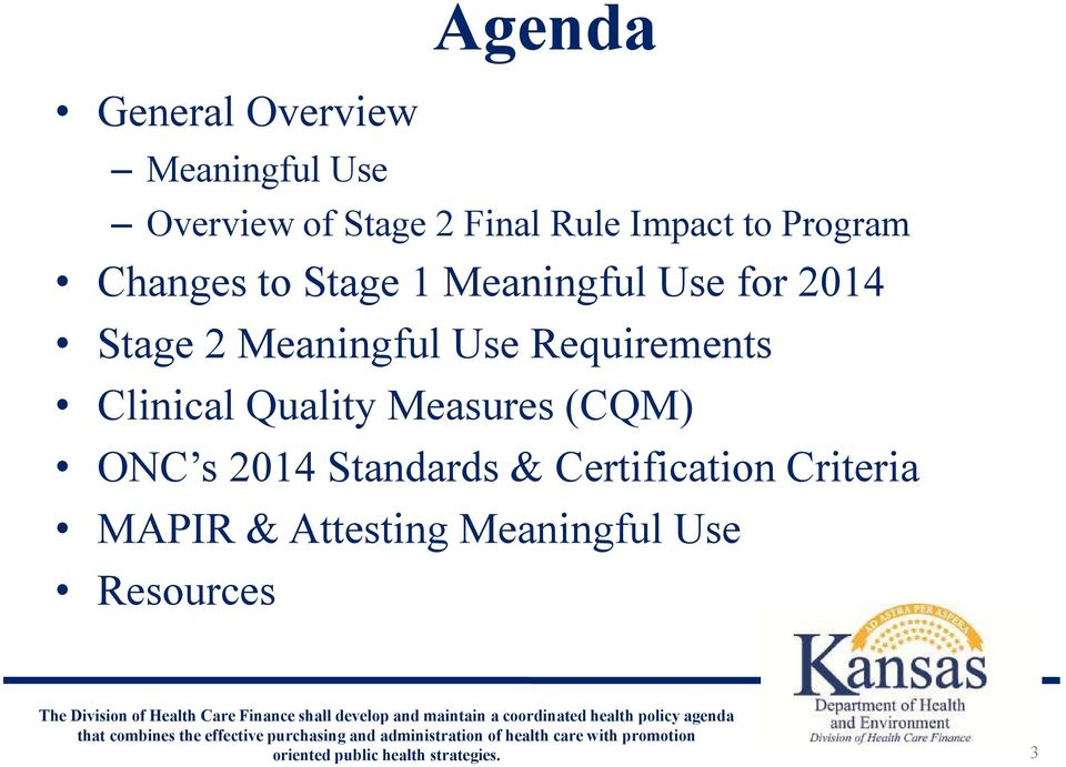 Meaningful Use Requirements Clinical Quality Measures (CQM) ONC s 2014