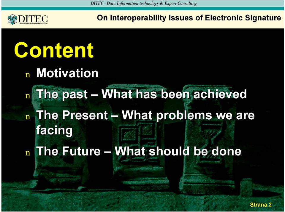 bee achieved The Preset What problems we