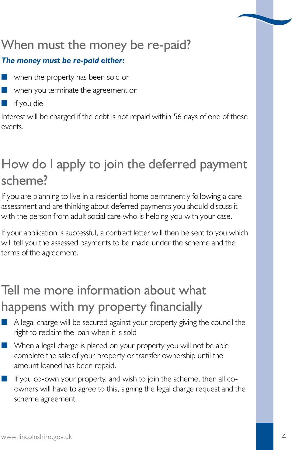 these events. How do I apply to join the deferred payment scheme?