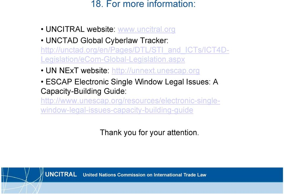 aspx UN NExT website: http://unnext.unescap.