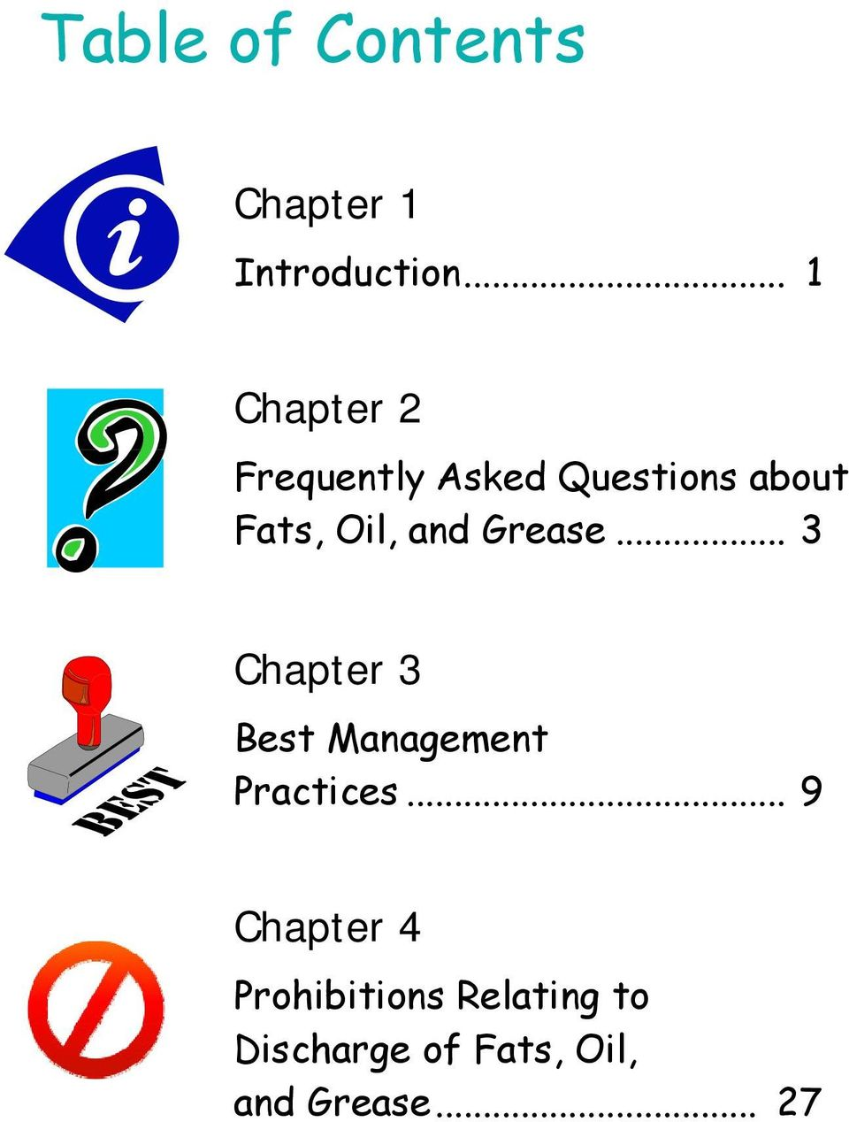 Oil, and Grease... 3 Chapter 3 Best Management Practices.