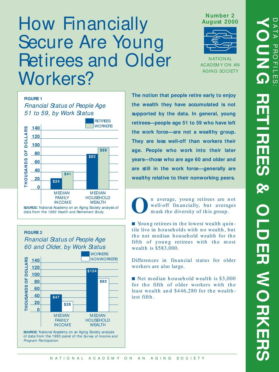 Aging Society analysis of data from the 1992 Health and Retirement Study.