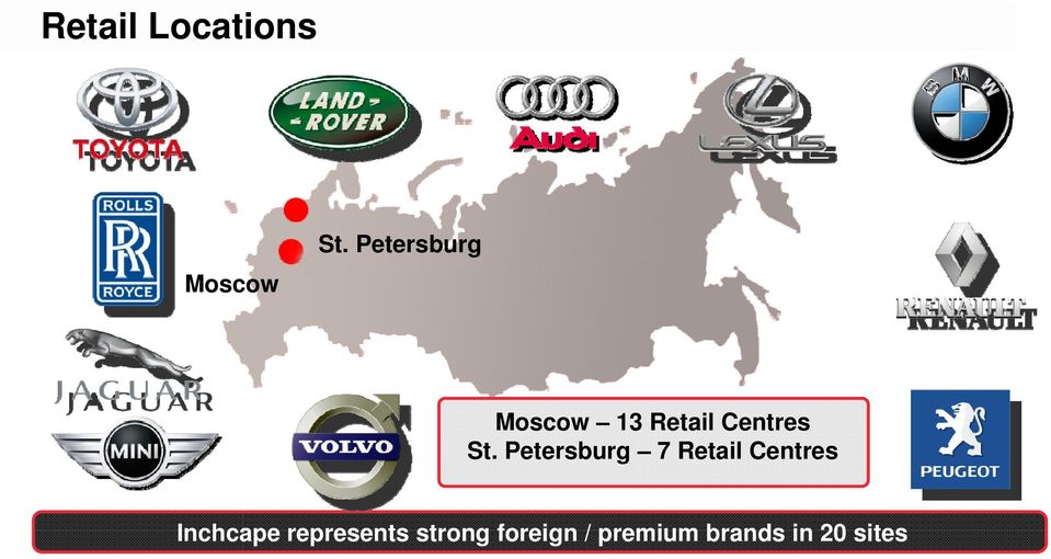 Petersburg 7 Retail Centres Inchcape