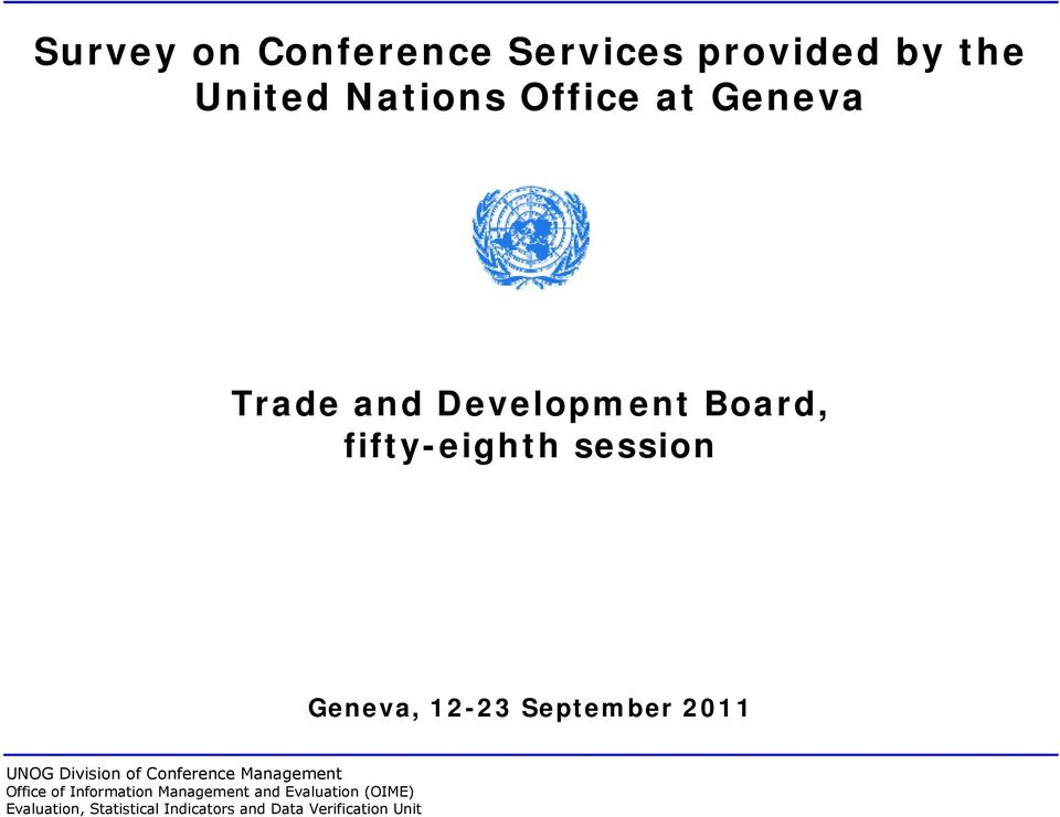 Trade and Development Board,