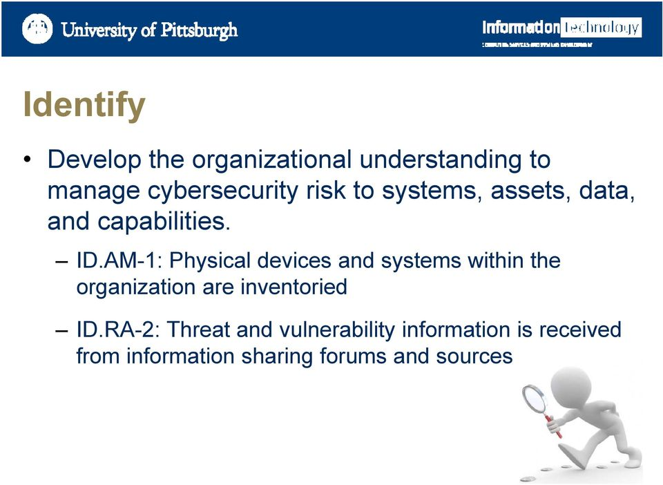 AM-1: Physical devices and systems within the organization are inventoried