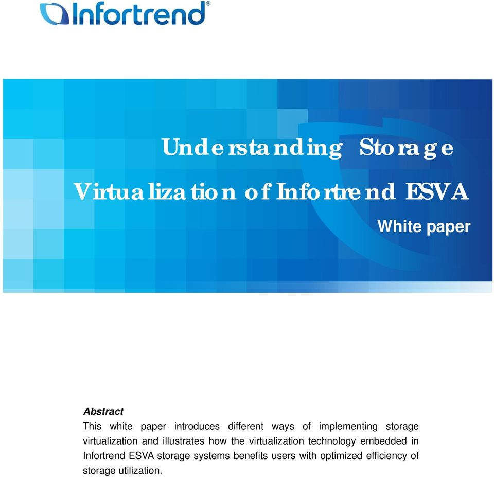 virtualization and illustrates how the virtualization technology embedded in
