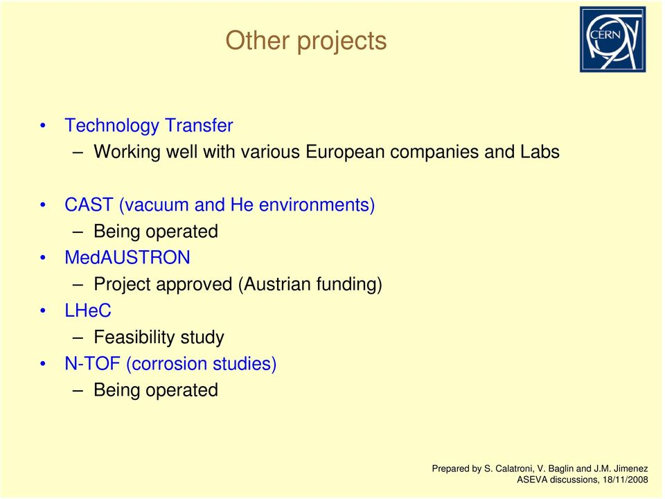 Being operated MedAUSTRON Project approved (Austrian funding)