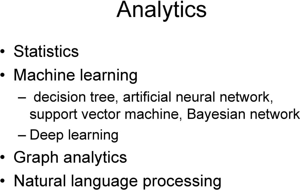 support vector machine, Bayesian network
