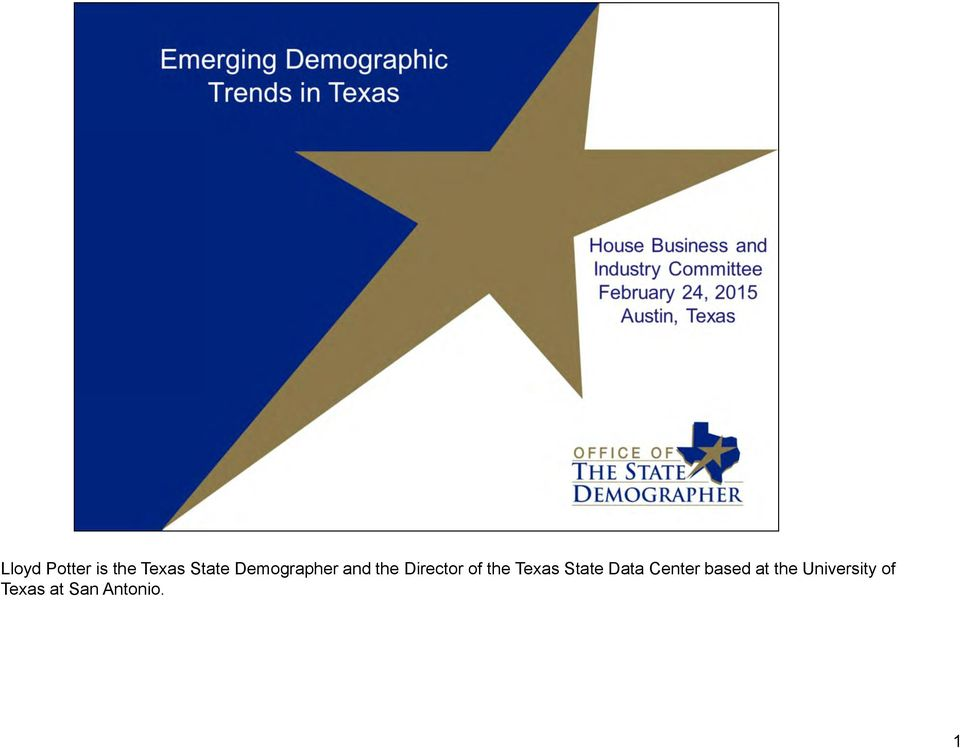 Texas State Data Center based at