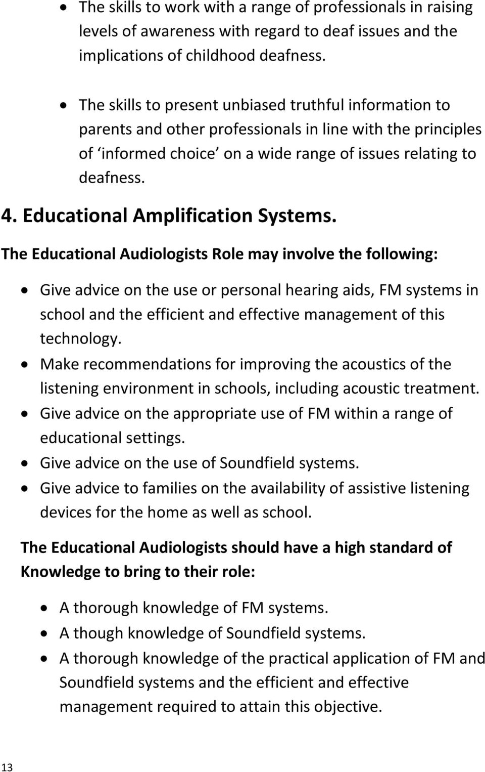 Educational Amplification Systems.