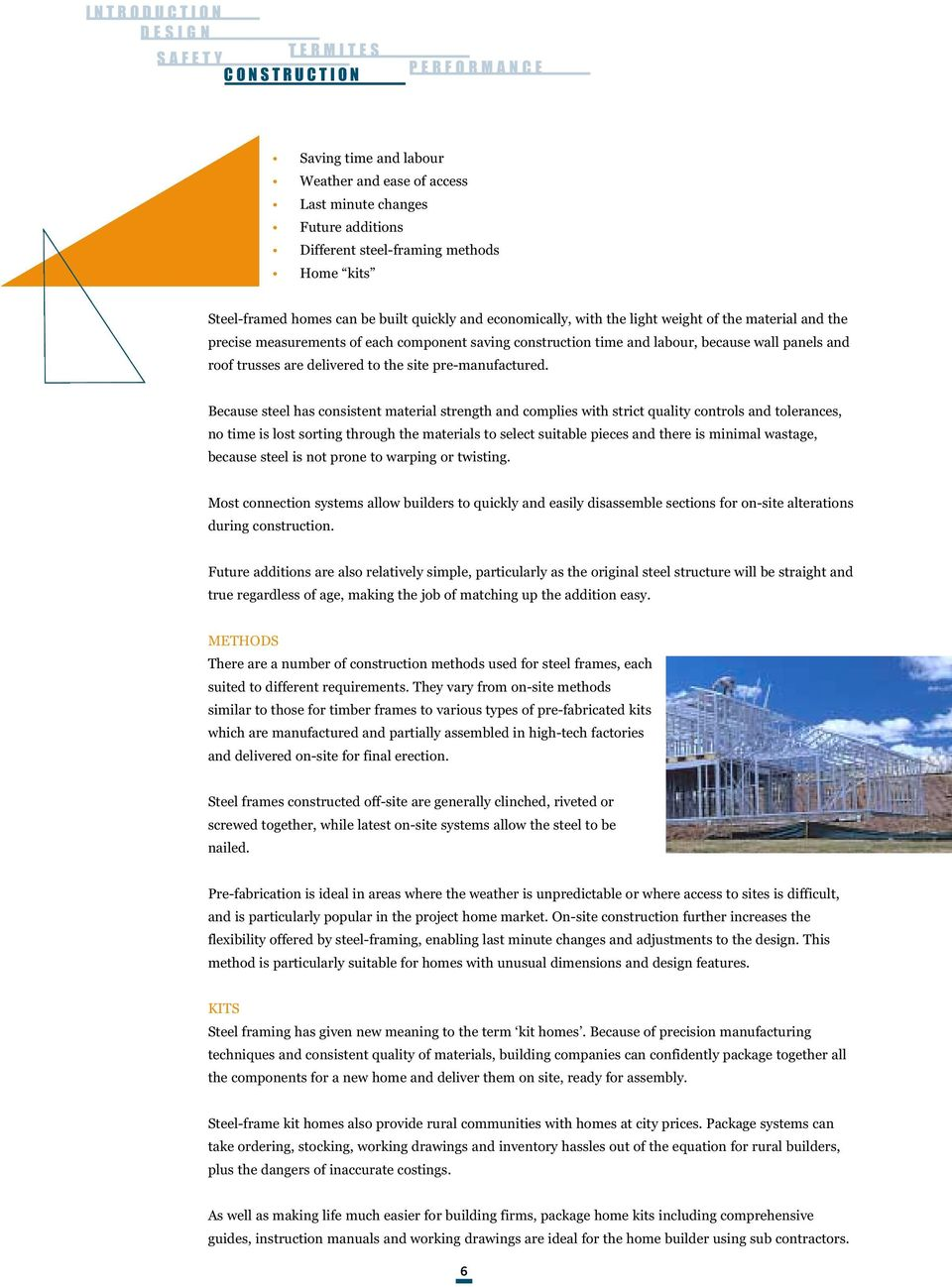 guide to steel framed construction - PDF