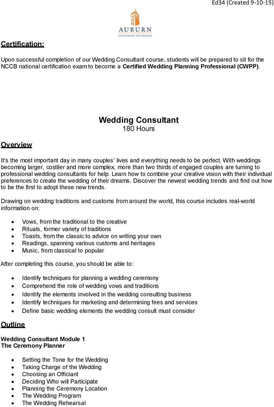 With weddings becoming larger, costlier and more complex, more than two thirds of engaged couples are turning to professional wedding consultants for help.