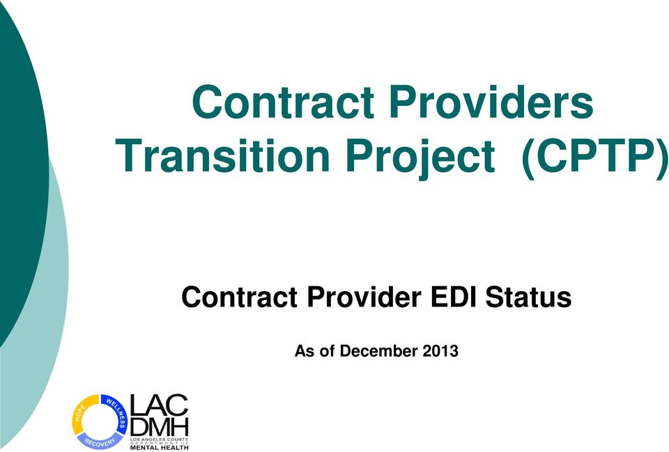 (CPTP) Contract