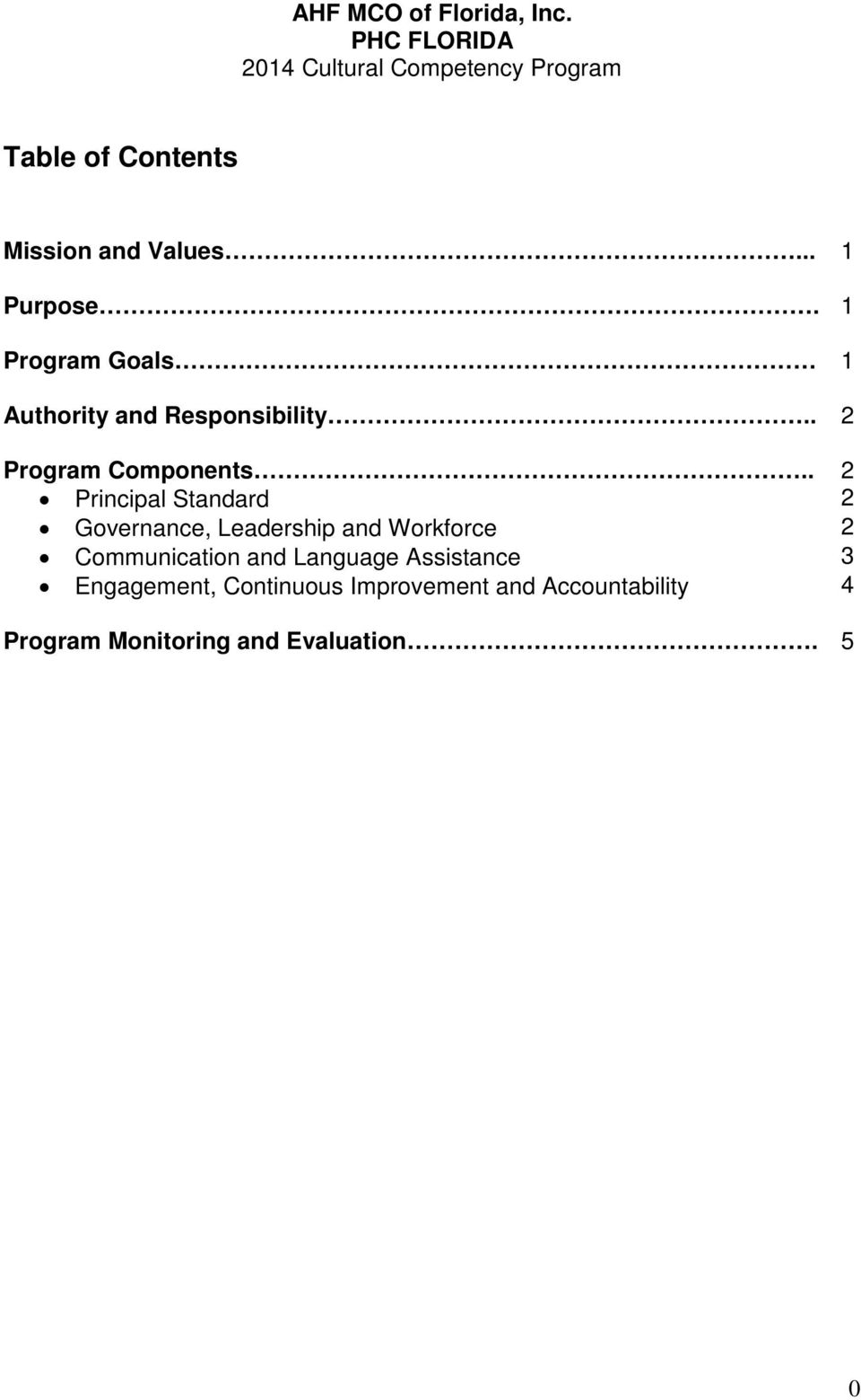 . 2 Principal Standard 2 Governance, Leadership and Workforce 2 Communication