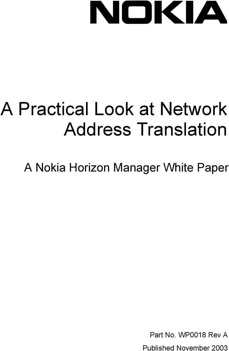 Horizon Manager White Paper Part