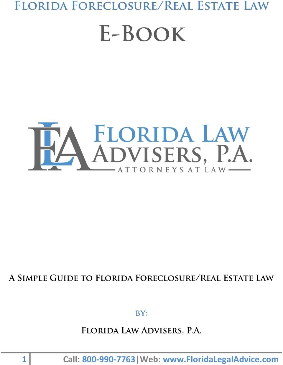 Estate Law by: Florida Law Ad