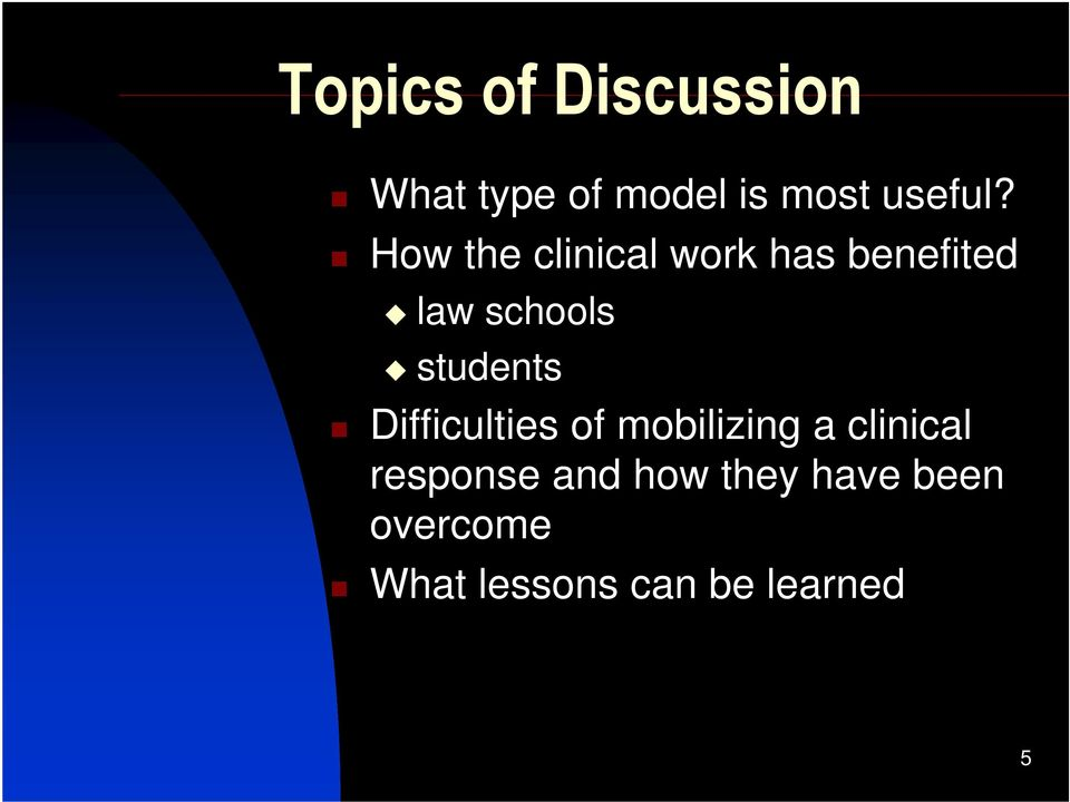 students Difficulties of mobilizing a clinical response