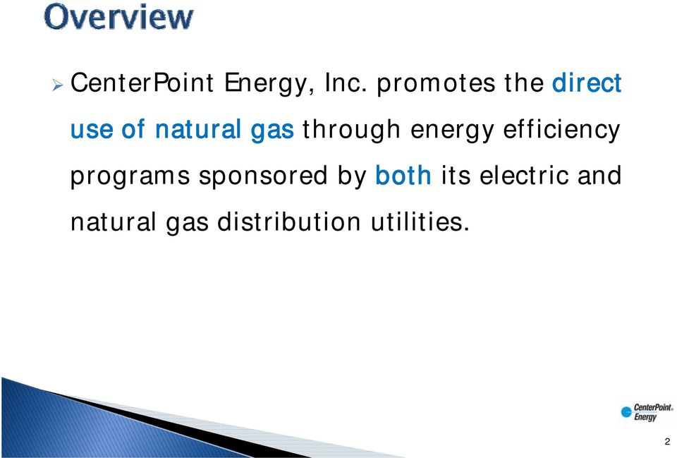 through energy efficiency programs