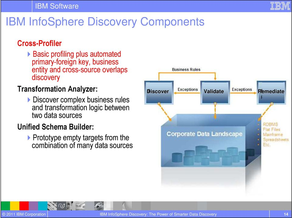 Analyzer: Discover complex business rules and transformation logic between two data sources