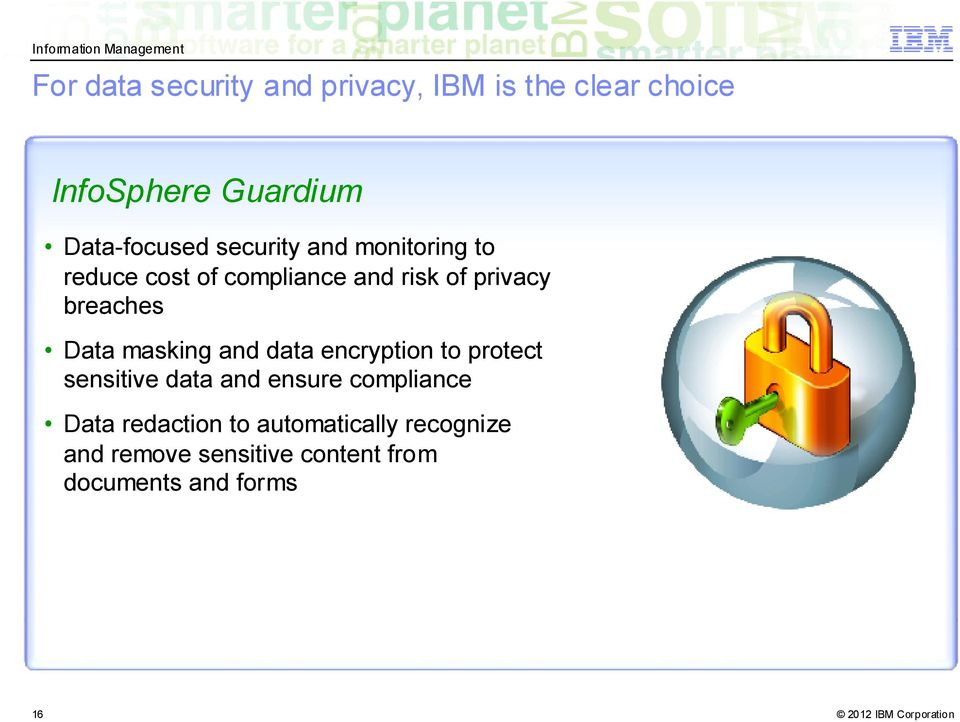 masking and data encryption to protect sensitive data and ensure compliance Data