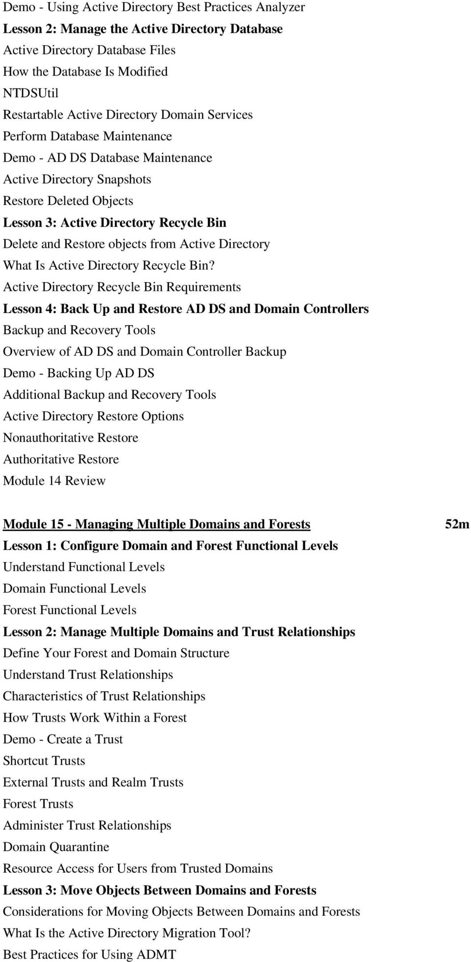 from Active Directory What Is Active Directory Recycle Bin?