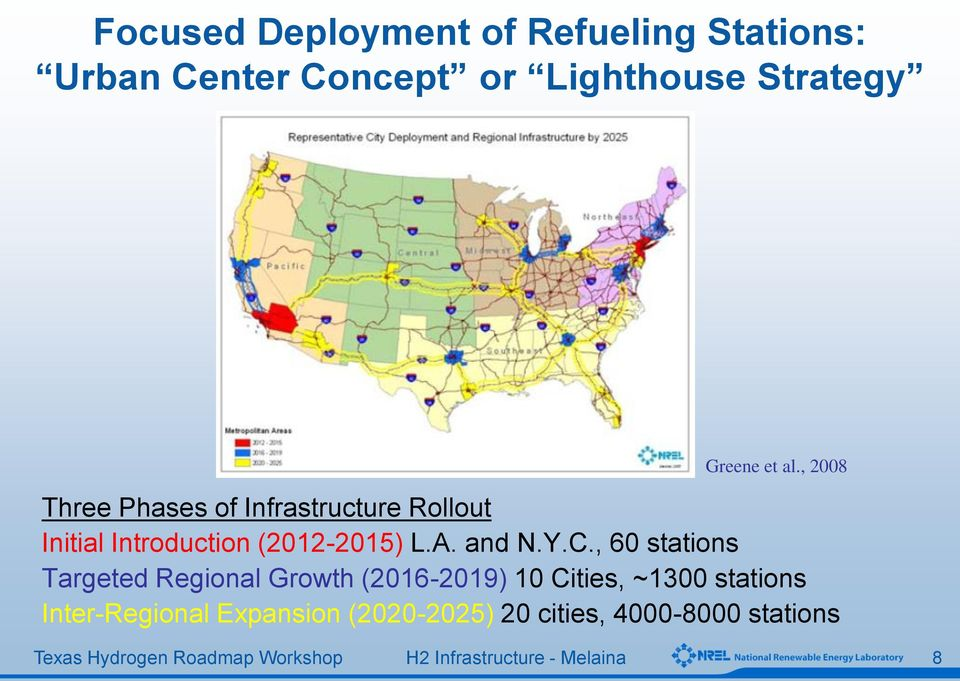 , 2008 Three Phases of Infrastructure Rollout Initial Introduction (2012-2015) L.A.