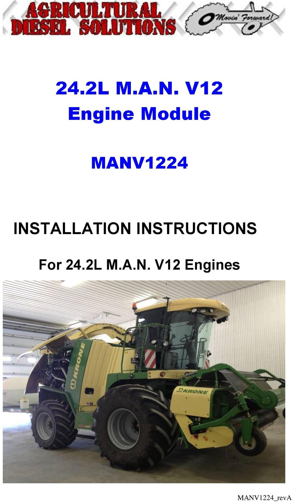 MANV1224 INSTALLATION