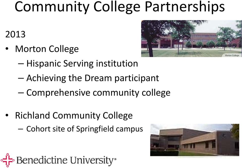 participant Comprehensive community college