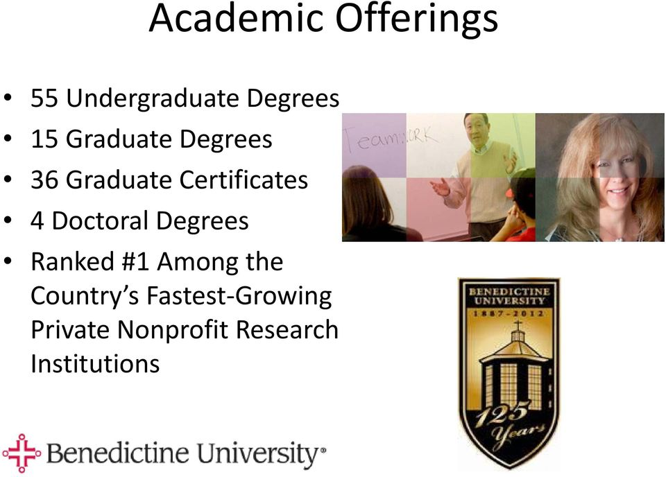 Doctoral Degrees Ranked #1 Among the Country s