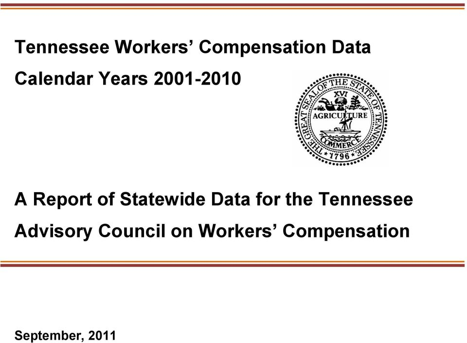 Statewide Data for the Tennessee