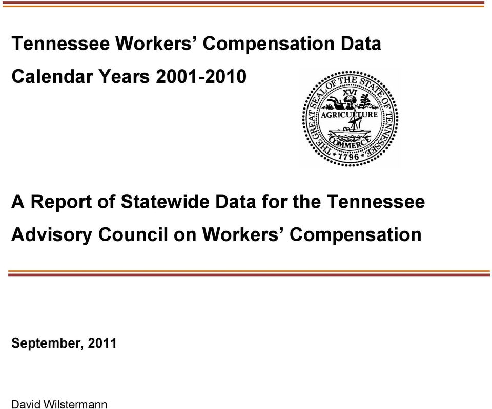 for the Tennessee Advisory Council on