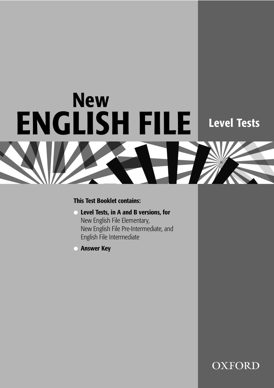 versions, for New English File Elementary, New English