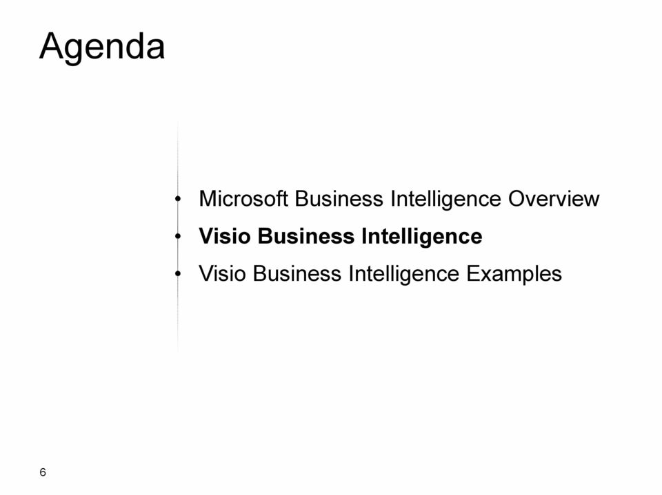 Business Intelligence Visio