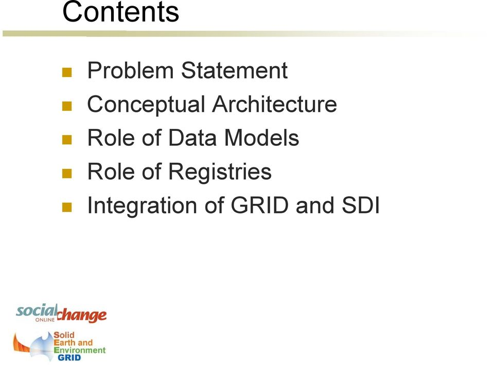 of Data Models Role of