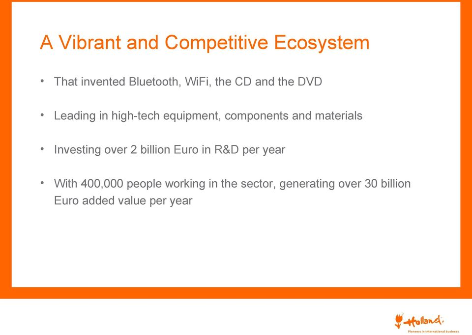materials Investing over 2 billion Euro in R&D per year With 400,000