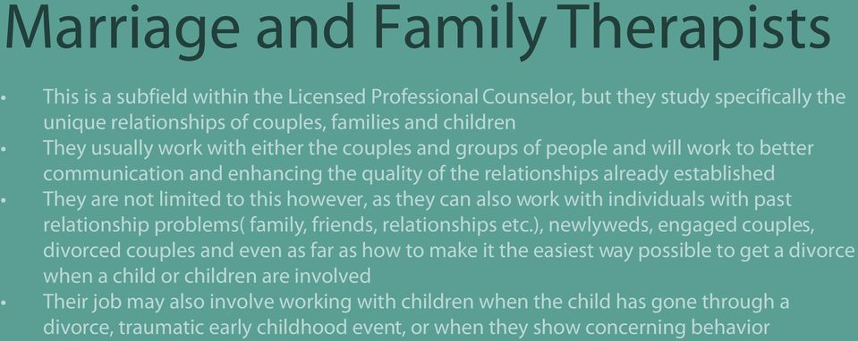 also work with individuals with past relationship problems( family, friends, relationships etc.