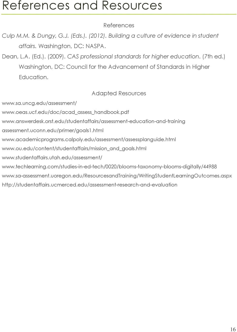 edu/doc/acad_assess_handbook.pdf www.answerdesk.orst.edu/studentaffairs/assessment-education-and-training assessment.uconn.edu/primer/goals1.html www.academicprograms.calpoly.