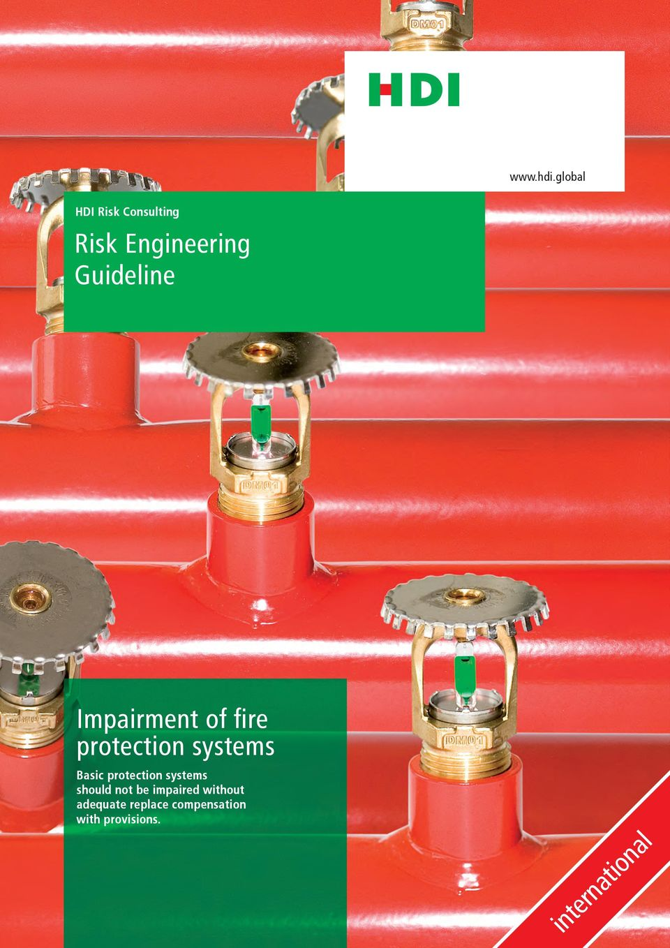 Impairment of fire protection systems Basic