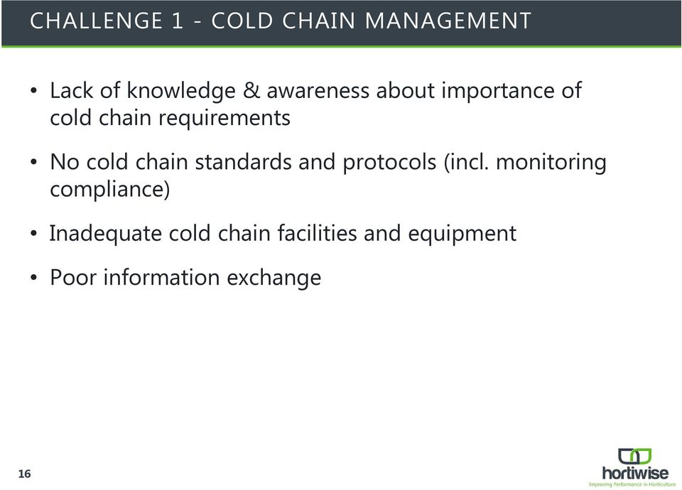 chain standards and protocols (incl.