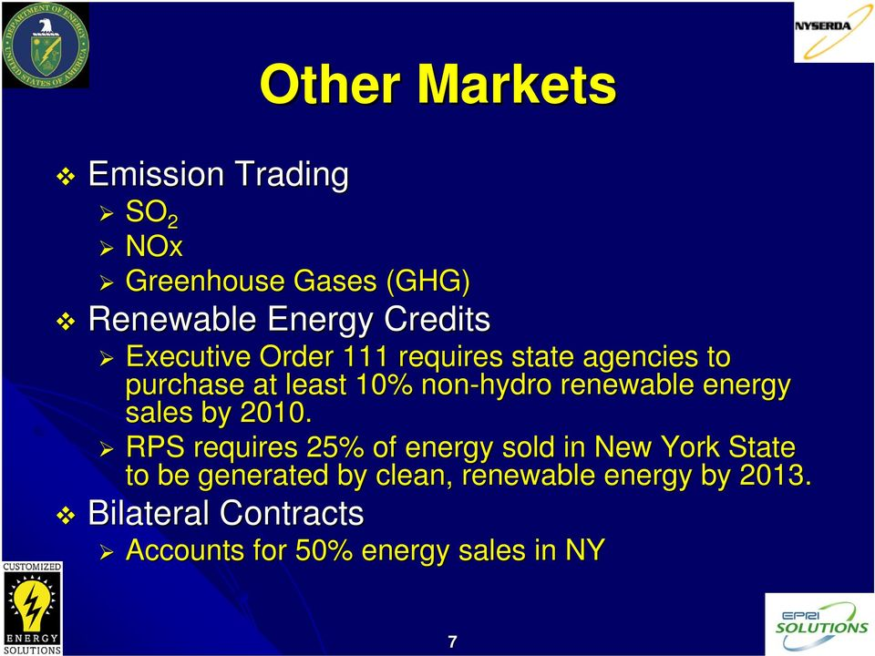 energy sales by 2010.