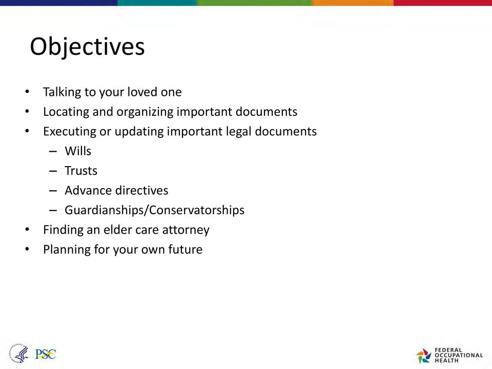 documents Wills Trusts Advance directives
